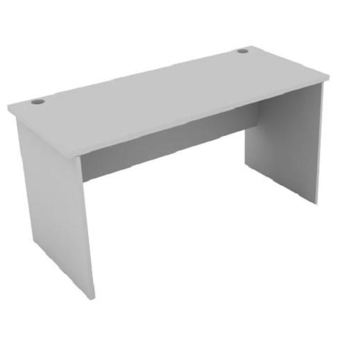 SPAZIO Office Desk [WT-1200] - Light Grey - Meja Kantor